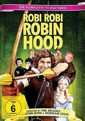 DVD * MEL BROOKS ROBI ROBI ROBIN HOOD - Die komplette TV-Kultserie  # NEU OVP &