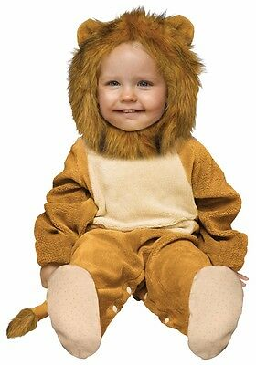Cuddly Lion Costume Baby Infant Toddler Lil Cub - 6-12M, 12-24M