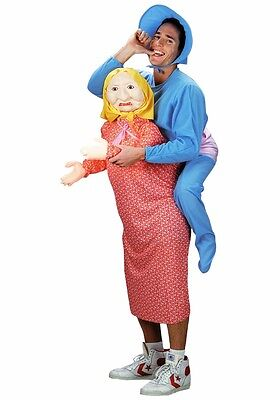 But Mommy Costume Baby & Mom Grandma Inflatable Adult Mens Funny Humorous - Fast