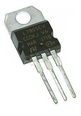 10 Pcs Positive 5 Volt Voltage Regulator 1.5 Amp To220 L7805 Lm7805 7805