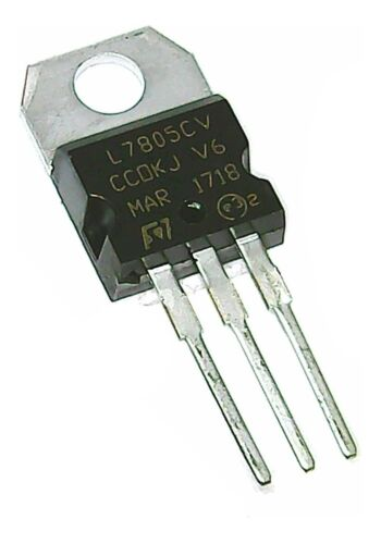 5 pcs Positive 5 Volt Voltage Regulator 1.5 amp TO220  L7805 LM7805 7805