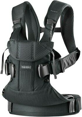 BabyBjorn Baby Carrier One Air Black Mesh V2