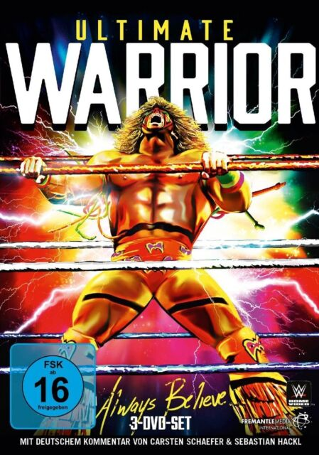 3 DVDs *  WWE - ULTIMATE WARRIOR - Always Believe  # NEU OVP &