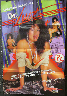 POSTER Orig 1-SH ~ VANESSA DEL RIO is DOCTOR LUST ~1987 Adult Classic ](Adult Lust)