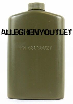 QTY 4 OD Green Pilot Flasks - Outdoor Backpacking Emergency Water Bottle USA NEW