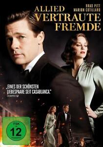 Allied - Vertraute Fremde (2017) - DVD - NEU&OVP