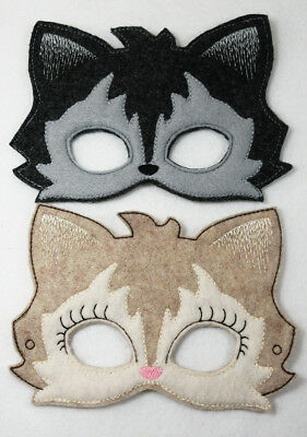Werewolf Masks Girl and Boy Dress Up Mask, Pretend Play, Cosplay,  ](Werewolf And Girl)