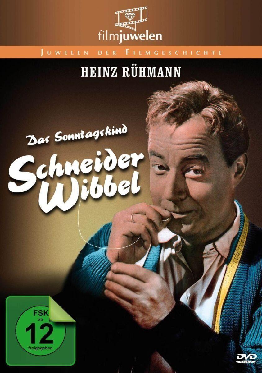 Schneider Wibbel - Das Sonntagskind - mit Heinz Rühmann - Filmjuwelen DVD