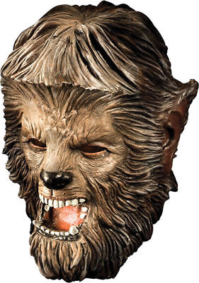 Frightening Masks (Morris Costumes New Frightening Realistic Latex Horror Wolfman Mask.)