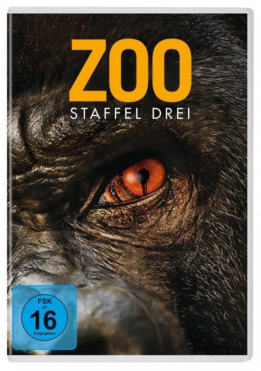 3 DVDs * ZOO - SEASON / STAFFEL 3 # NEU OVP +