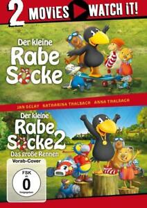 : Der kleine Rabe Socke / Der kleine Rabe Socke 2 - 2 Filme-Box