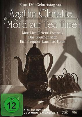 Agatha Christie - Mord zur Tea Time (2 DVD Box-Edition mit 3...