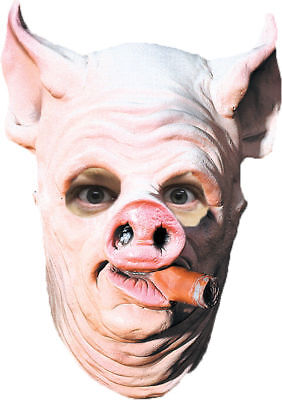 Morris Costumes Big Ears And Nose Cigar Hanging Pig Out Face Mask. DU116 (Halloween Pig Ears)