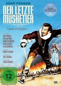 DVD - Der letzte Musketier - Cyrano de Bergerac mit Jose Ferrer - NEU - OVP