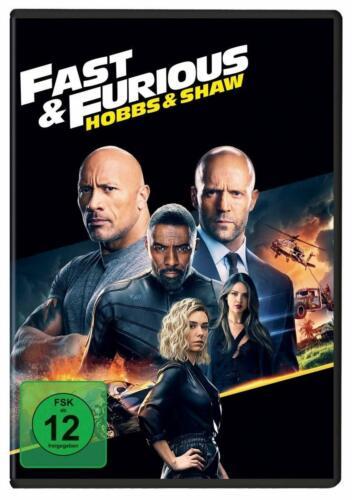 Fast & Furious: Hobbs & Shaw (Jason Statham) DVD NEU