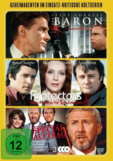 GEHEIMAGENTEN IM EINSATZ-BRITISCHE KULTSERIEN 3 DVD NEU