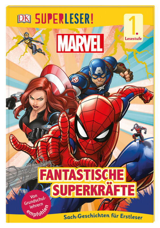 Catherine Saunders - Superleser! MARVEL Fantastische Superkräfte