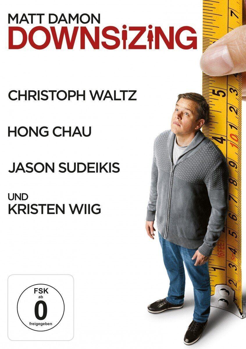 Downsizing (2018) DVD