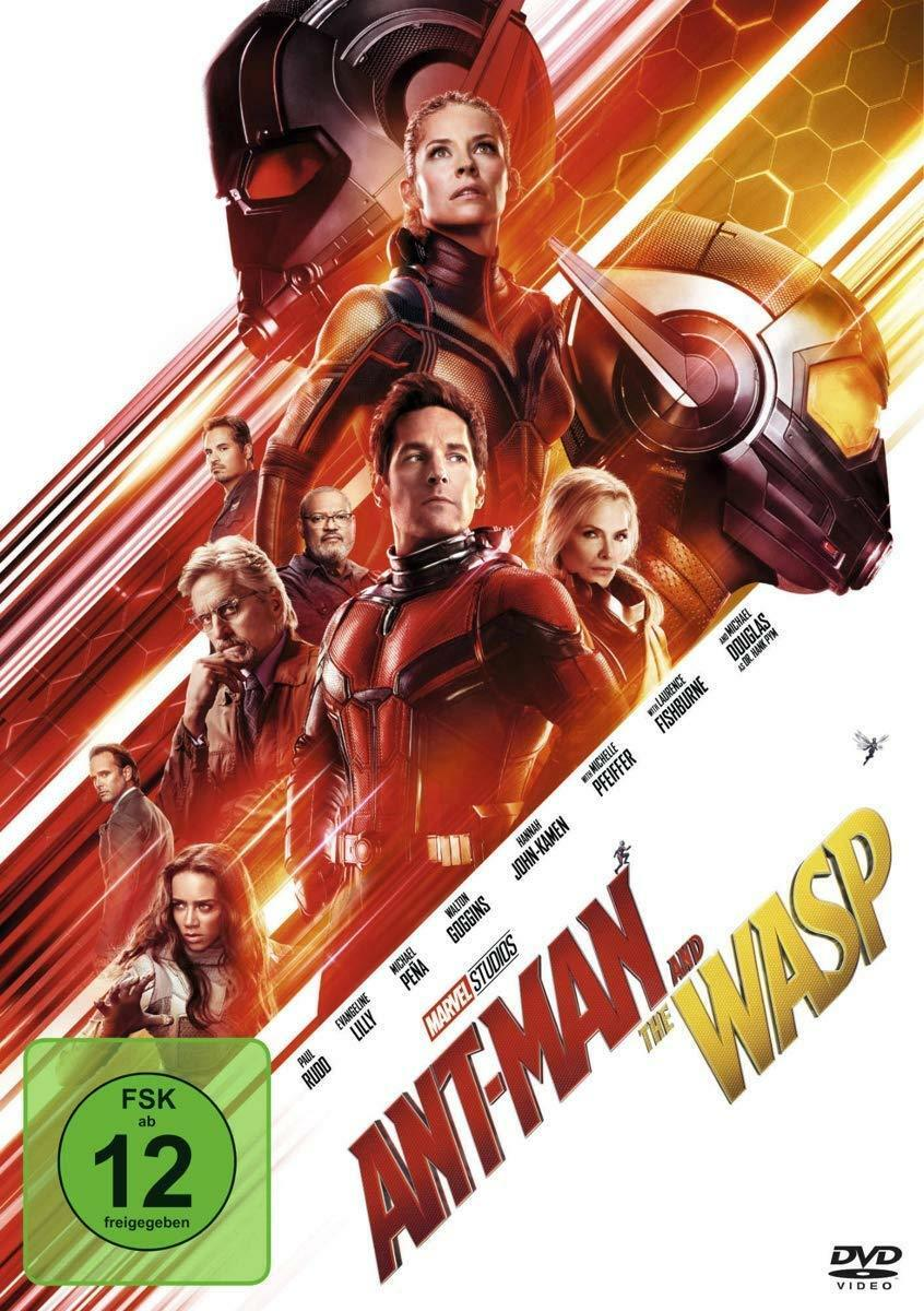 Ant-Man and the Wasp DVD NEU & OVP