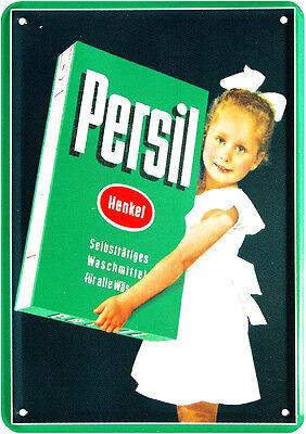 Postal de Metal Persil Selbsttätiges Detergente Jabón 10cm X 14,5CM