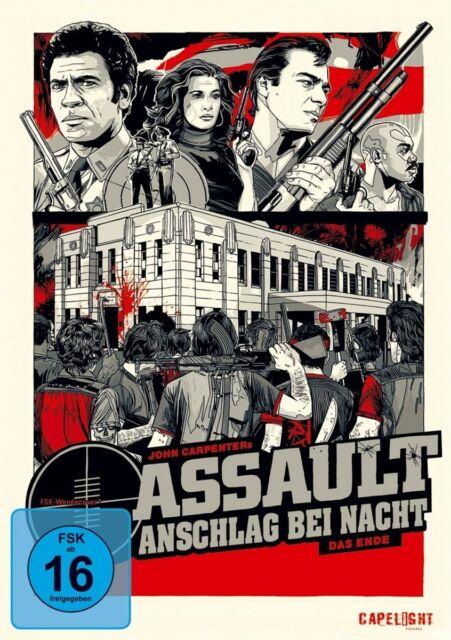Assault - Anschlag bei Nacht (John Carpenter) DVD NEU + OVP!