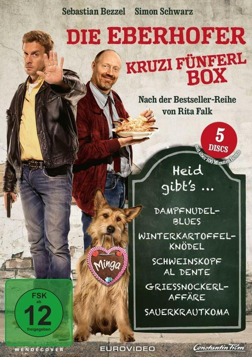 5 DVD-Box * EBERHOFER KRUZIFÜNFERL BOX INKL. SAUERKRAUTKOMA # NEU OVP %