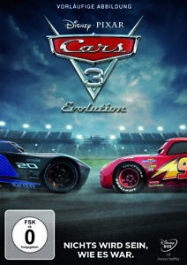 Cars 3 - Evolution (2018) - DVD - Neu