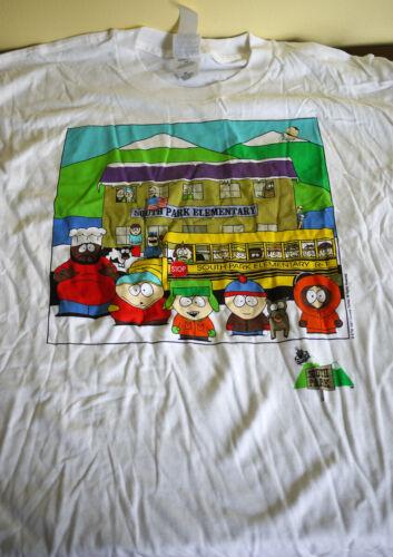South Park Elementary Vintage T-shirt  (1997; XL - New)