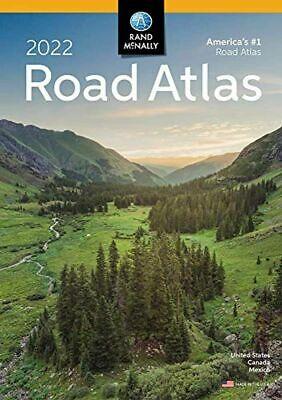 Rand Mcnally USA Road Atlas 2022  Travel Maps USA Canada, Mexico