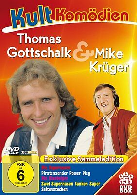 5 DVDs *  KULT KOMÖDIEN - THOMAS GOTTSCHALK & MIKE KRÜGER BOX  # NEU OVP