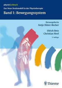 THIEME Physiofachbuch Band 1: BEWEGUNGSSYSTEM +++ NEU / OVP +++ 3. Auflage