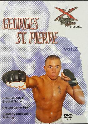 George St Pierre Instructional Dvd Volume 2, UFC, Champion, MMA, BJJ, STriking