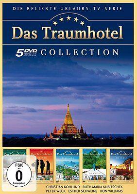 5 DVDs * DAS TRAUMHOTEL - SAMMELBOX 4  u.a. Marokko , Tobago  # NEU OVP )