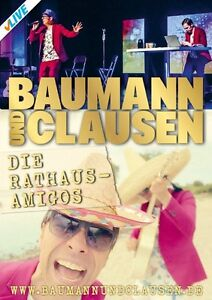 BAUMANN & CLAUSEN - DIE RATHAUS AMIGOS   DVD NEU
