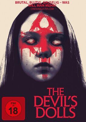 The Devil's Dolls -  Worry Dolls (Horrorfilm) mit Kym Jackson, Tina Lifford NEU
