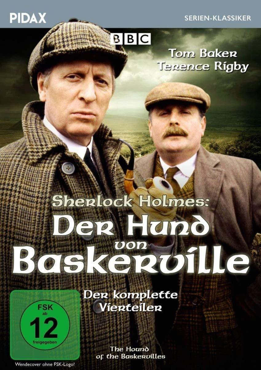 Sherlock Holmes Der Hund von Baskerville (1982) *DVD 4-Teiler Tom Baker Pidax