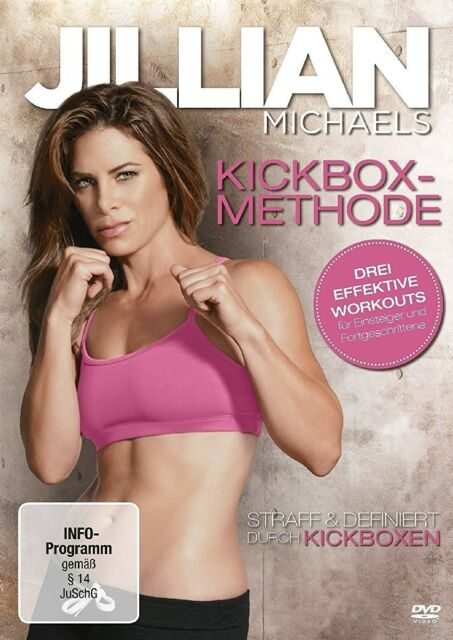 JILLIAN MICHAELS - KICKBOX METHODE - WORKOUT - FITNESS - DVD NEU