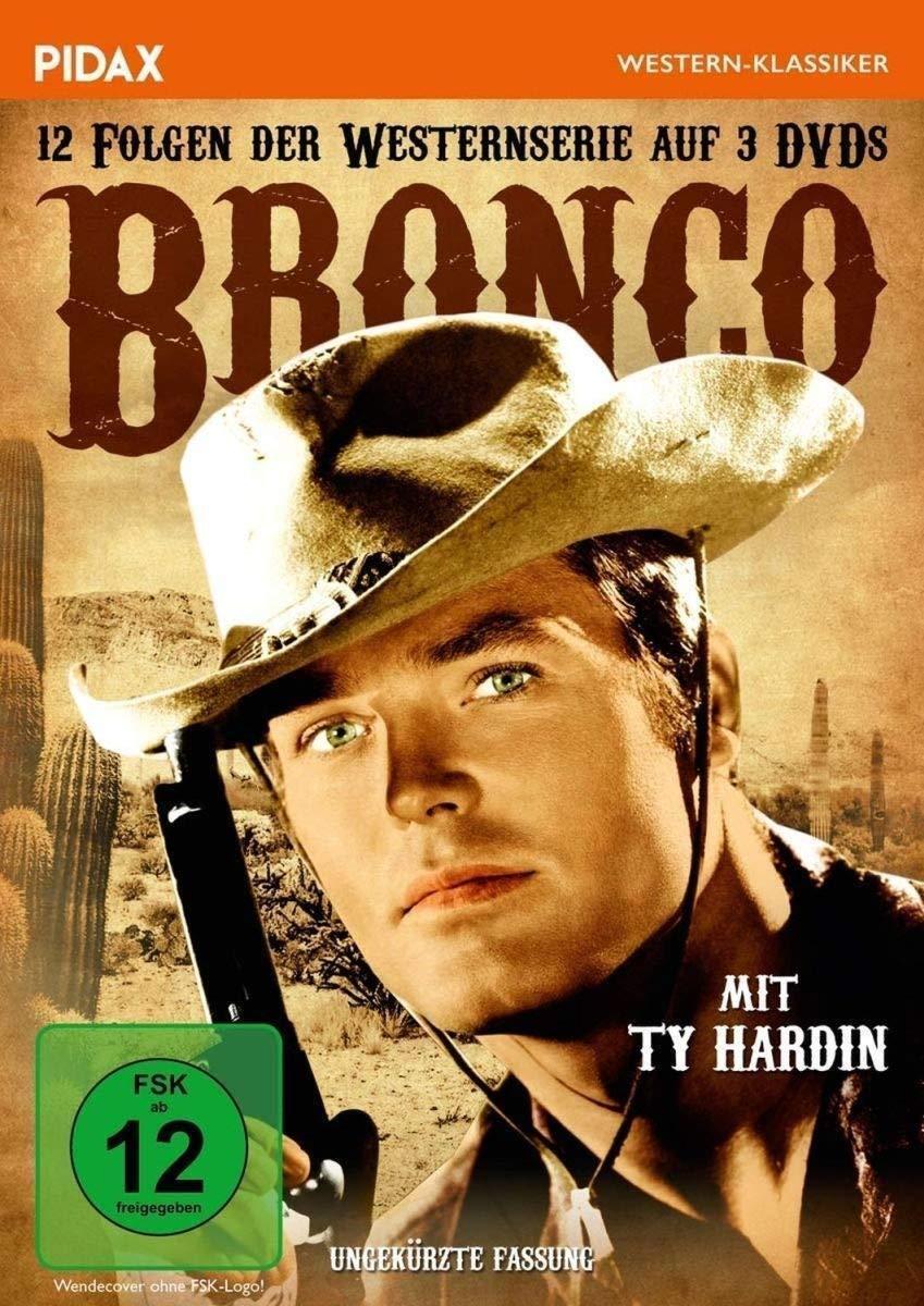 Bronco * DVD 12 Folgen der Westernserie mit Ty Hardin - Pidax Western Neu