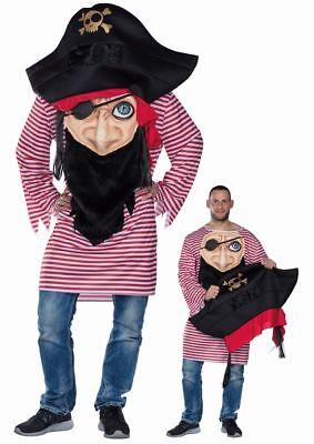 Verrückter Pirat Karneval Fasching (Verrückte Kostüm)