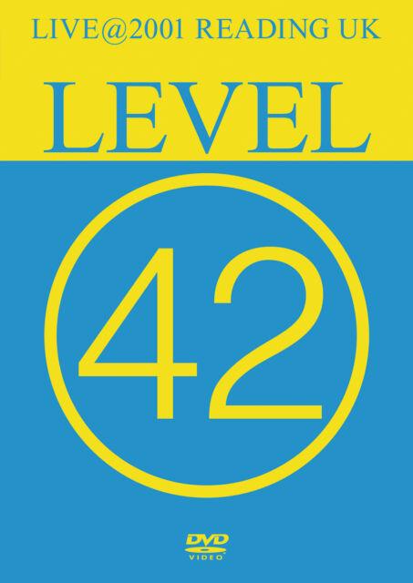 DVD Level 42 Live 2001 Reading UK