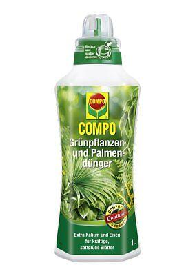 Compo Grünpflanzendünger Zimmerpflanzendünger Palmendünger 1 Liter