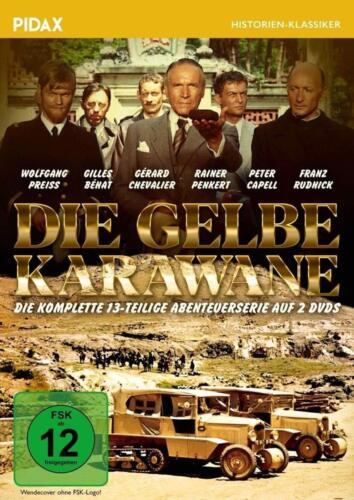 Die gelbe Karawane * DVD Abenteuerserie 13 Teile Pidax Neu