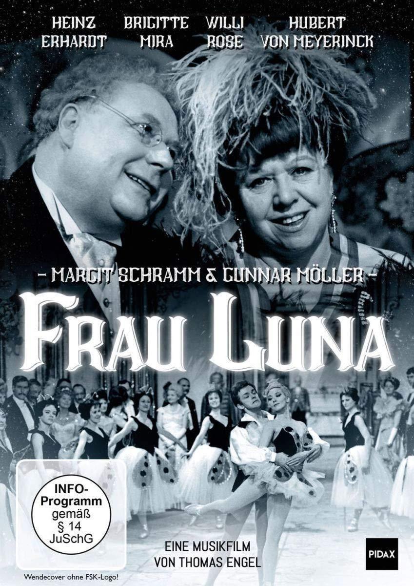Frau Luna * DVD Musikfilm Heinz Erhardt  Brigitte Mira  Willi Rose  Pidax Neu