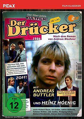Der Drücker * DVD 80er-Jahre-Kultfilm Andreas Buttler Heinz Hoenig Pidax Neu