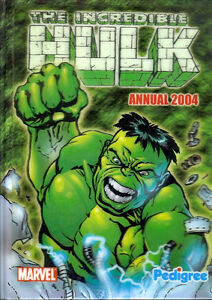 The Incredible Hulk Annual (2004 UK hardback; new) 3-D cover edition