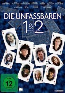 DIE UNFASSBAREN 1 + 2 NOW YOU SEE ME DVD DEUTSCH