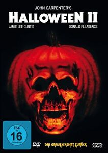 HALLOWEEN-2-II-Donald-Pleasence-JAMIE-LEE-CURTIS-DVD-nuevo