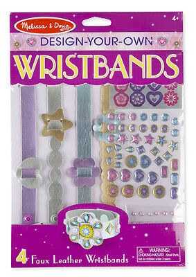 Melissa and Doug Design-Your-Own Wristbands #9473 New - Design Your Own Wristband