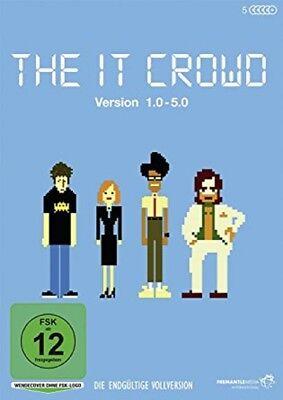 The It Crowd Box 1-5 Version 1.0 - 5.0 Die endgültige Vollversion NEU OVP 5 DVDs