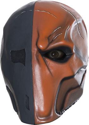 Deathstroke Full Costume (Morris Costume Men's New Deathstroke Full Over Head Latex Mask One Size.)